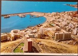 Ak Spanien - Tenerife - Los Cristianos - Panorama - Luftaufnahme - Tenerife