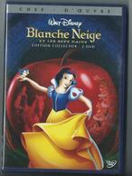 DVD Blanche Neige Et Les Sept Nains - Dessin Animé