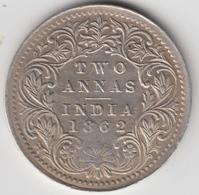 @Y@    Brits India   2  Annas   1862  (2314) - Inde