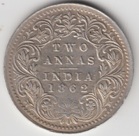 @Y@    Brits India   2  Annas   1862  (2314) - India