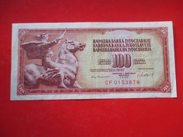 X1- 100 Dinara 1981.Yugoslavia- Circulated. - Yugoslavia