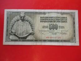 X1- 500 Dinara 1978.Yugoslavia- Circulated.- Nikola Tesla - Yugoslavia
