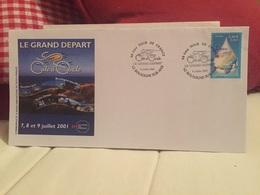 Boulogne Sur Mer 2001 Tour De France Le Grand Départ Côte D'Opale - Marcophilie (Lettres)