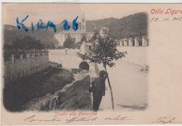 Celle Ligure Savona Strada Alla Parrocchia - Otras Ciudades
