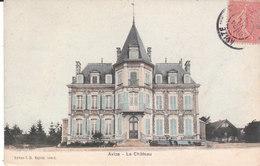CPA AVIZE (51) LE CHÂTEAU - COLORISEE - France