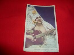 Cartolina Pubblicitaria Cioccolato Talmone Al Latte Donnina Margaret Livingston Attrice - Donne Celebri