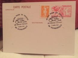 Dunkerque  2001 Tour De France - Marcophilie (Lettres)