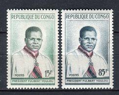 Congo 1960. Yvert 137-38 ** MNH. - Congo - Brazzaville