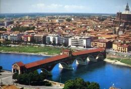 Pavia - Ponte Coperto Sul Ticino - Formato Grande Non Viaggiata – E 10 - Pavia