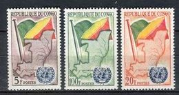 Congo 1961. Yvert 139-41 ** MNH. - Congo - Brazzaville