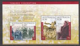 Australia MNH Michel Nr Block 35 From 2000 / Catw 8.00 EUR - Blokken & Velletjes