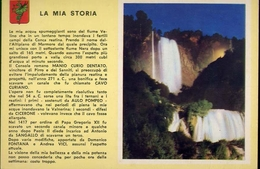 Terni - Cascata Delle Marmore - Notturno - Formato Grande Non Viaggiata – E 10 - Terni