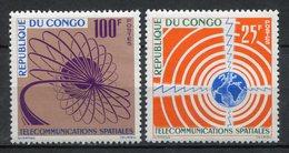 Congo 1963. Yvert 154-55 ** MNH. - Congo - Brazzaville