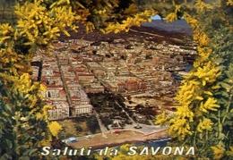 Saluti Da Savona - Veduta Aerea - Formato Grande Viaggiata – E 10 - Savona
