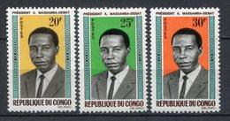 Congo 1965. Yvert 172-74 ** MNH. - Congo - Brazzaville