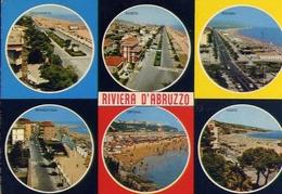 Riviera D'abruzzo - Giuglianova - Roseto - Pescara - Francavilla - Ortona - Vasto - Formato Grande Viaggiata – E 10 - Italy