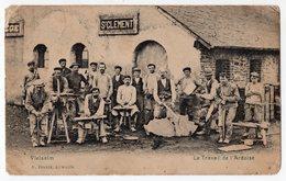 22 - VIELSALM - Le Travail De L'ardoise - Ardoisière St CLEMENT - Comblain-au-Pont