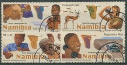 Namibia 2003 Entwicklung Ländlicher Gebiete Wasser Schule 1102/05 Gestempelt - Namibie (1990- ...)