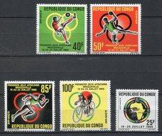 Congo 1965. Yvert 175-79 ** MNH. - Congo - Brazzaville
