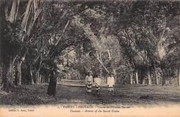 CPA TAHITI - FAUTAUA - Cours De L'Union-Sacrée - Tahiti