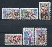 Congo 1966. Yvert 190-95 ** MNH. - Congo - Brazzaville