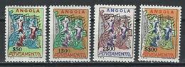 Angola. Scott # RA22-25 MNH. Postal Tax Stamps. 1965 - Angola