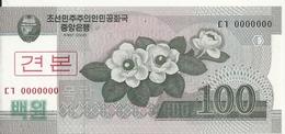 COREE DU NORD 100 WON 2008 UNC P 61 S - Corée Du Nord