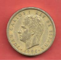 100 Pesetas , ESPAGNE , Aluminium-Bronze , 1986 , N° KM # 826 , N° Y # 139 - [ 5] 1949-… : Royaume