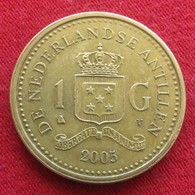 Netherlands Antilles 1 Gulden 2005 KM# 37  Antillen Antilhas Antille Antillas - Netherland Antilles