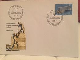 Genève BIT 1974 Bureau Internationale Du Travail - UNO