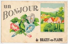 Un Bonjour De Brazey-en-Plaine - Autres Communes