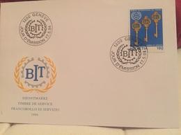 Genève BIT 1994 Suisse Service Bureau International Du Travail - UNO