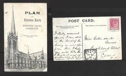 South Africa, Dutch Reformed Church North Paarl, Used, 1/2d,, PAARL MY 20 05 Sq.c.d.s. > CERES Sq.c.d.s - South Africa