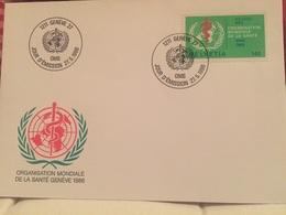Genève OMS 1986 Suisse Service Organisation Mondiale De La Santé - WHO