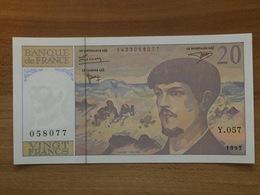 Billet 20 Francs DEBUSSY 1997 - Y.057 Neuf Non Plié - 1962-1997 ''Francs''