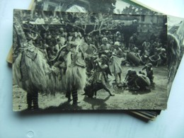 Indonesië Indonesia  Bali ? Photo Postcard People And A Dance - Indonesië
