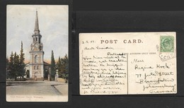 South Africa, Dutch Reformed Church  Wellington, , Used, 1/2d,WELLINGTON C.H.G > JOHANNESBURG - South Africa