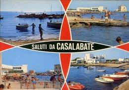 Saluti Da Casalabate - Formato Grande Viaggiata – E 10 - Lecce