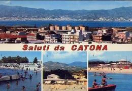 Saluti Da Catona - Formato Grande Non Viaggiata – E 10 - Reggio Calabria