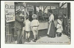 Paris - Fete Foraine - Le Marchand De Glaces - Beau Plan - Stand - Enfants- - Frankreich