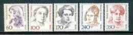 BERLIN Mi. Nr. 824-828 Freimarken: Frauen Der Deutschen Geschichte - MNH - Siehe Scan - Berlin (West)
