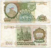 Rusia - Russia 1.000 Rublos 1993 Pick 257 Ref 1268 - Rusia