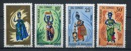 Congo 1967. Yvert  207-10 ** MNH. - Congo - Brazzaville