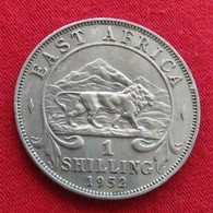 East Africa 1 Shilling 1952 H Africa Oriental Afrique Afrika - Munten