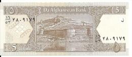 AFGHANISTAN 5 AFGNANIS 2002 UNC P 66 - Afghanistan