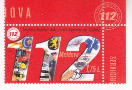 2019 , Moldova  Moldavie  Moldawien  Moldau  , National Call Cervice - 112 , Medicine , Police , 1 V. , MNH - Moldova