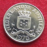 Netherlands Antilles 25 Cents 1976 KM# 11  Antillen Antilhas Antille Antillas - Antilles Neérlandaises