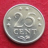 Netherlands Antilles 25 Cents 1970 KM# 11  Antillen Antilhas Antille Antillas - Netherland Antilles