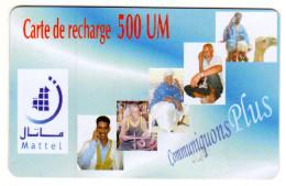 MAURITANIE PREPAYEE MATTEL - Mauritanien