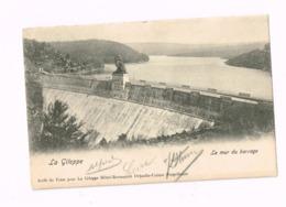 La Gileppe.Le Mur Du Barrage.Expédié De Dolhain-Limbourg à Anvers. - Jalhay